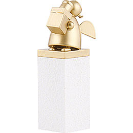 Guardian Angel Gold with Gift - 8 cm / 3.1 inch