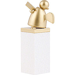 Guardian Angel Gold with Book Singing - 8 cm / 3.1 inch