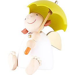 Guardian Angel with Umbrella - 16 cm / 6.3 inch