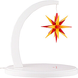 Star Arch White with A1e Yellow-Red - 29 cm / 11.4 inch