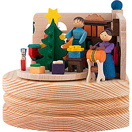 Music Box Christmas Snuggery - 8,5 cm / 3.3 inch