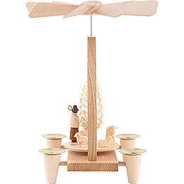 1-Tier Pyramid - Sheep - Natural - 26 cm / 10.2 inch