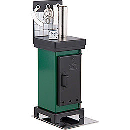 Smoking Stove - The Classic Green/Black - 19 cm / 7.5 inch