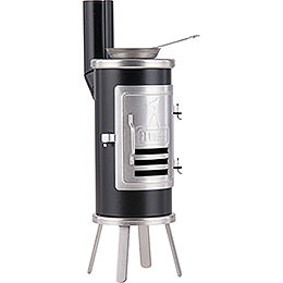 Smoking Stove - Carpener's Glue Stove Black - 14,5 cm / 5.7 inch