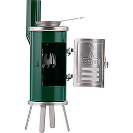 Smoking Stove - Carpener's Glue Stove Green/Black - 14,5 cm / 5.7 inch
