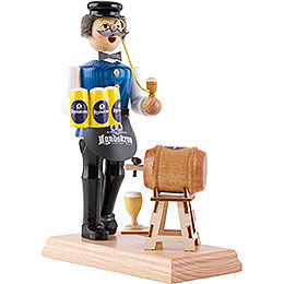 Smoker - Innkeeper with Keg Tapping - 18 cm / 7.1 inch