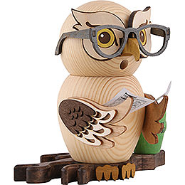Smoker - Owl Four-Eyed Owl - 15 cm / 5.9 inch