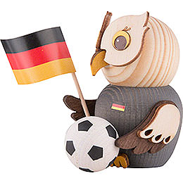 Mini Owl with Football - 7 cm / 2.8 inch