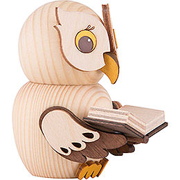 Mini Owl with Book - 7 cm / 2.8 inch