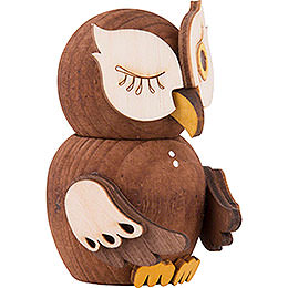 Mini Owl Stained - 7 cm / 2.8 inch