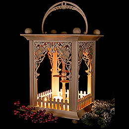Pyramid Lantern - Bells - without Figurines - 38 cm / 15 inch