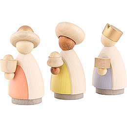 The Three Wise Men Colored - 7 cm / 2.8 inch