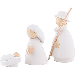 The Holy Family White/Natural - 7 cm / 2.8 inch