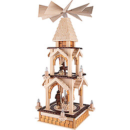 2-Tier Pyramid - Forest - 77 cm / 30.3 inch