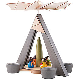 1-Tier Pyramid - Angels Colored - 29 cm / 11.2 inch