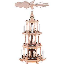 3-Tier Pyramid - Nativity - 67 cm / 26 inch