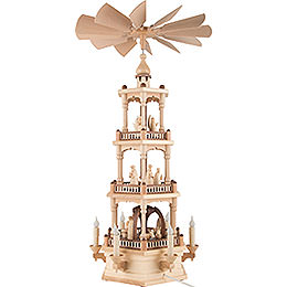3-Tier Pyramid - Nativity - 73 cm / 29 inch