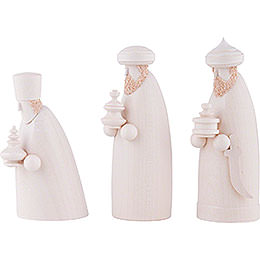 The Three Wise Men - White - 14 cm / 5.5 inch