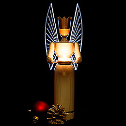 Light Angel, Modern, with Illuminated Wings - 36 cm / 14.2 inch