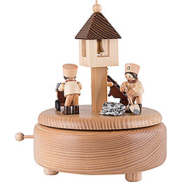 Music Box - Miners at Work - 13 cm / 5.1 inch