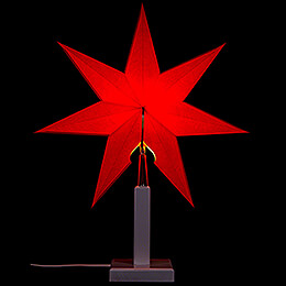 Table Lamp White 30 cm / 11.8 inch for Annaberg Folding Star 35 cm / 13.8 inch or Annaberg Window Star 41 cm / 16.1 inch