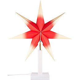 Table Lamp White 40 cm / 15.7 inch for Annaberg Folding Star 58 cm / 22.8 inch or Annaberg Window Star