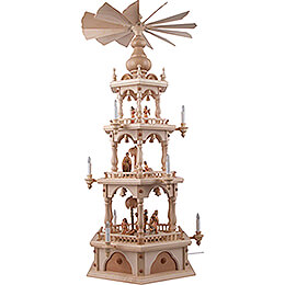 3-Tier Pyramid - Nativity - 110 cm / 43.3 inch
