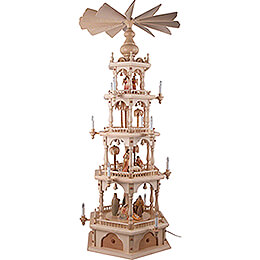 4-Tier Pyramid - Nativity - 140 cm / 55.1 inch