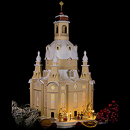 Lighted House Dresden Church, LED - 51 cm / 20.1 inch