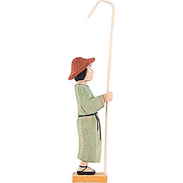 Shepherd standing with Crook - 9,5 cm / 3.7 inch