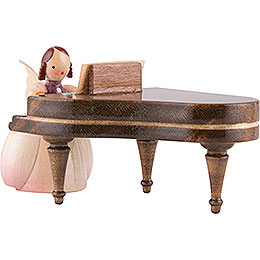 Schaarschmidt Angel with Piano - 4 cm / 1.6 inch