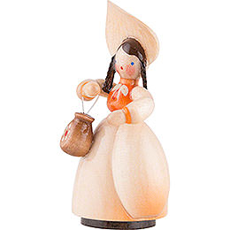 Schaarschmidt Hat Lady with Handbag - 4 cm / 1.6 inch