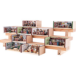 Display for Miniature Rooms - 12 cm / 4.7 inch