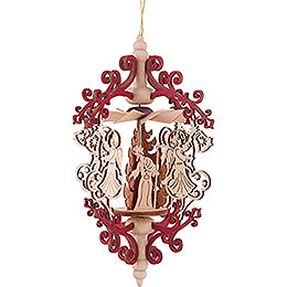 Tree Ornament - Angel with Bell - Nativity - 15 cm / 5.9 inch