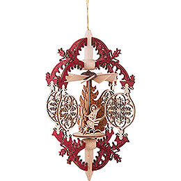 Tree Ornament - Ornaments - Angels on Stars - 15 cm / 5.9 inch