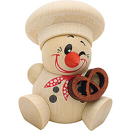 COOL MAN Baker with Pretzel - 5 pcs. - 6 cm / 2.4 inch