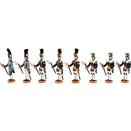 Historic Miners' Parade - Selection - 8 pieces - 8 cm / 3.1 inch