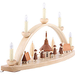 Candle Arch - Seiffener Church - 50 cm / 20 inch