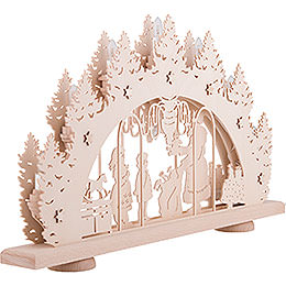 Candle Arch - Gift Giving - 52x32x6 cm / 20.5x12.6x2.4 inch