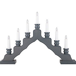 Light Arch - Swedish Style - Gray - LED - 33 cm / 13 inch