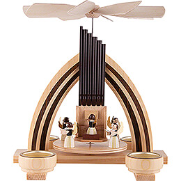 1-Tier Pyramid  - Angel Orchestra - 25 cm / 9.8 inch