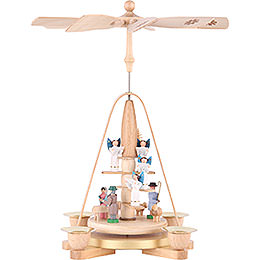 1-Tier Pyramid - Angel Staircase - 25 cm / 9.8 inch