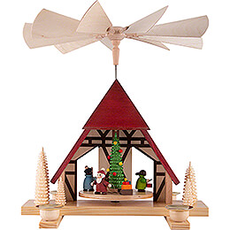 1-Tier Pyramid - Children's Christmas - 29 cm / 11.4 inch