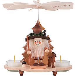 1-Tier Pyramid - Forestman - 19,5 cm / 8 inch