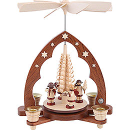 1-Tier Pyramid - Gift Bringing Angels - 28 cm / 11 inch