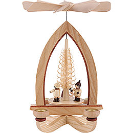 1-Tier Pyramid - Lampion Children - Natural - 28 cm / 11 inch