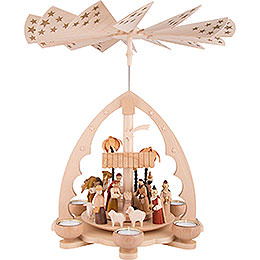 1-Tier Pyramid - Nativity - 40 cm / 15.7 inch