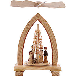 1-Tier Pyramid - Nativity Scene - 25 cm / 10 inch