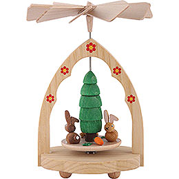 1-Tier Thermic Pyramid Bunnies - 10 cm / 4 inch