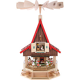 2-Tier Adventhouse Angel's Bakery Electrically Driven by Richard Glässer- 53 cm / 21 inch
